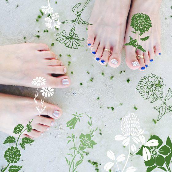 pielęgnacja stóp, naturalne kosmetyki, przepisy na kosmetyki (Fot. Pixabay)