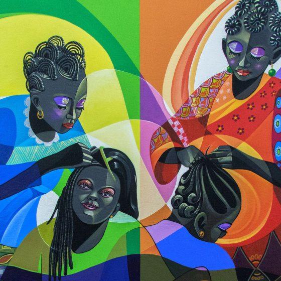 jak zrobić afrykańskie warkoczyki, pielęgnacja włosów, afryka