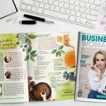 """Jesteśmy w wiosennym wydaniu magazynu """"Businesswoman & life""""!"""